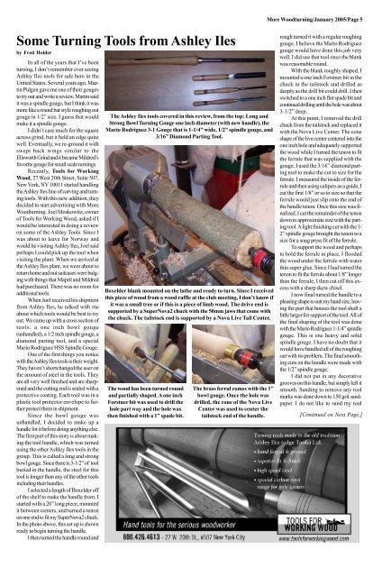 "Professional HSS Wood Lathe Roughing Gouge 1/"" x 19/"" Ash Handle Brass Ferrule New"