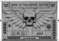 SHIPS OF THE GOTHIC SECTOR