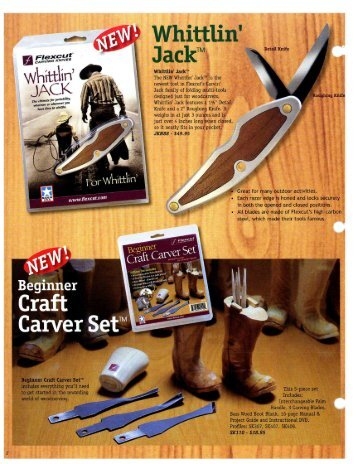 Sets, Knives - Woodworker's Depot, Inc.