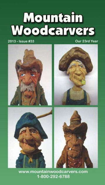 View pdf version online now. - Mountain Woodcarvers