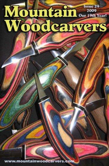 Leather Knife Sheaths - Mountain Woodcarvers