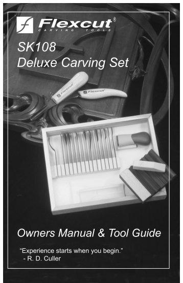 SK108 Manual - Flexcut Tool Company Inc.