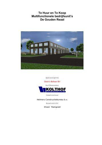 Brochure - De Munt