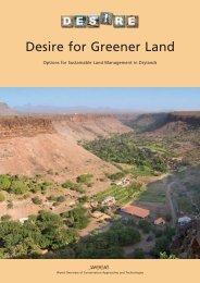 Desire for Greener Land