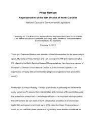 Pricey Harrison Representative of the 57th District of North Carolina