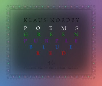 "download my free PDF ebook - Klaus Nordby's ""Poems Green ..."