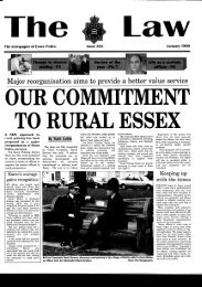 Law - Essex Police