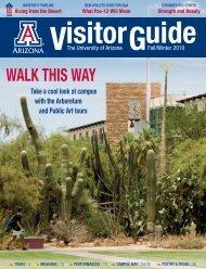 WALK THIS WAY - Arizona Daily Wildcat - University of Arizona