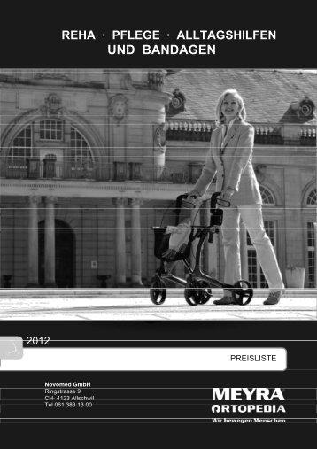 REHA · PFLEGE · ALLTAGSHILFEN UND ... - Novomed GmbH