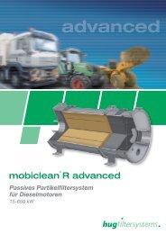 Passives Partikelfiltersystem für Dieselmotoren 15-650 kW