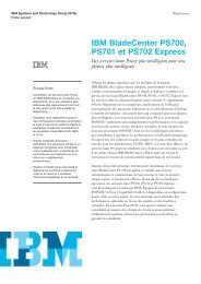 IBM BladeCenter PS700 - PS701 and PS702 Express