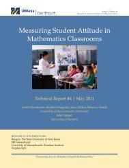 Measuring Student Attitude in Mathematics Classrooms