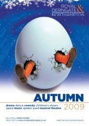 Autumn 2009 Brochure - Royal And Derngate