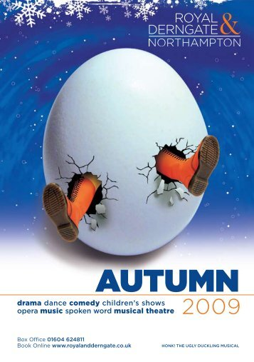 Autumn 2009 Brochure - Royal And Derngate