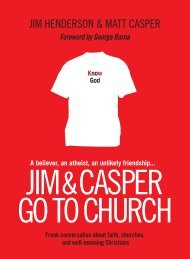 Jim & Casper Go to church - Tyndale House Publishers