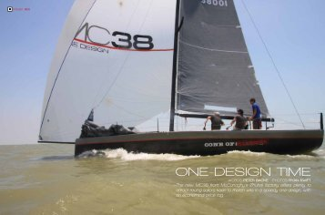 ONE-DESIGN TIME - McConaghy Boats