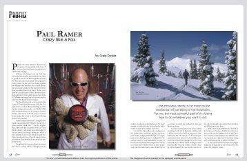 Ramer Profile Noads - EarnYourTurns