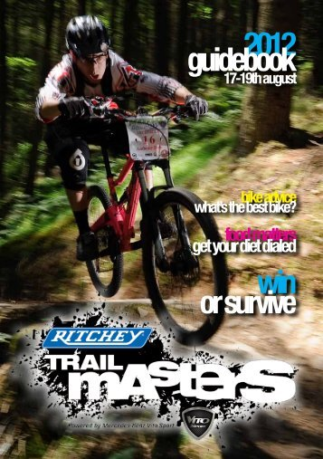 2012 guidebook - Ritchey Trail Masters
