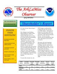 The ArkLaMiss Observer - National Weather Service Southern ...