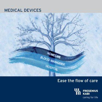 Flyer Medical Devices Film - Fresenius Kabi