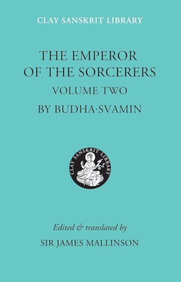 THE emperor of the Sorcerers - Clay Sanskrit Library