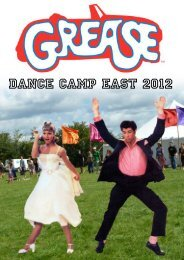DCE 2012 Grease songbook