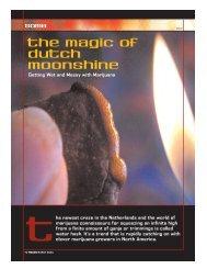 The Magic of Dutch Moonshine - Pollinator.NL