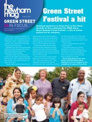 In Focus - Green Street Issue 202 - Newham