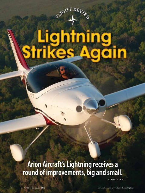 Arion Aircraft's Lightning receives a round of     - Green