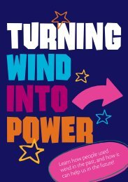 turning wind into power - Masdar City