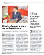 A long way to go on the path of inclusion - Sahaj e-Village Limited