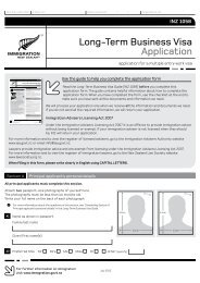 Long-Term Business Visa Application (INZ 1058) - Immigration New ...