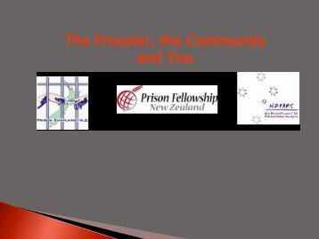 What is the state of our prisons? - Prison Fellowship New Zealand