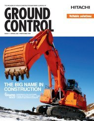 THE BIG NAME IN CONSTRUCTION - Ground Control Magazine