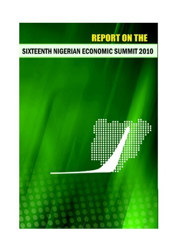 Report-on-the-Sixteenth-Nigerian-Economic-Summit-2010