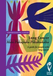 The lungs - Cancer Society of New Zealand