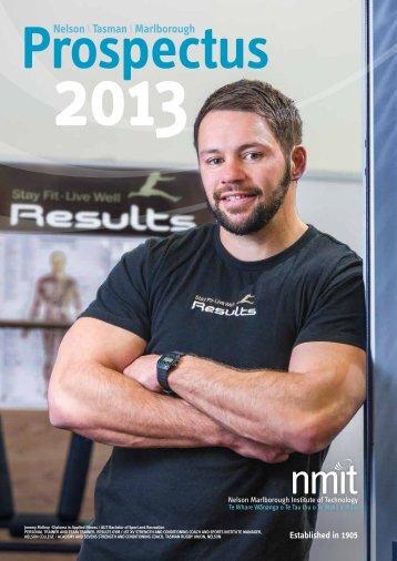 NMIT Prospectus 2013