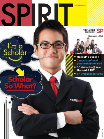 SPIRIT magazine - Singapore Polytechnic