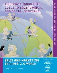 SALES AND MARKETING IN A WEB 2.0 WORLD THE TRAVEL ...