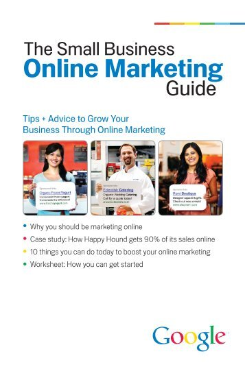 The Small Business Online Marketing Guide - Google