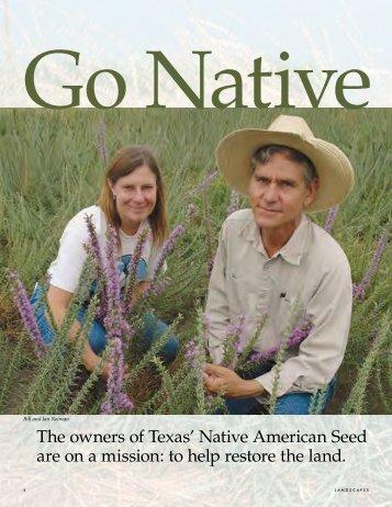 Go Native - Native American Seed