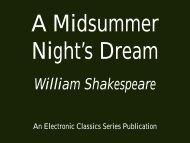 A Midsummer Night's Dream - 360 KB - Penn State University