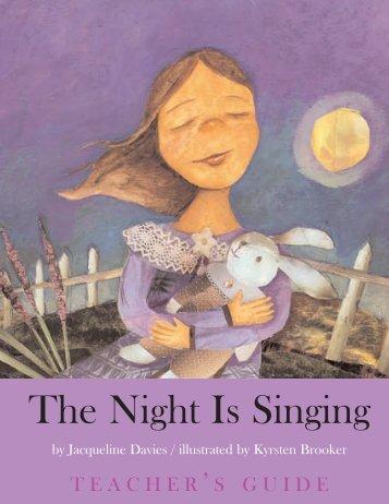 The Night Is Singing - Jacqueline Davies