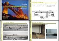 EGCE 406 Bridge Design - Mahidol University