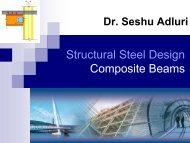 Structural Steel Design Composite Beams