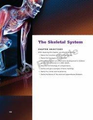 The Skeletal System - delgraphics.delma... - Delmar
