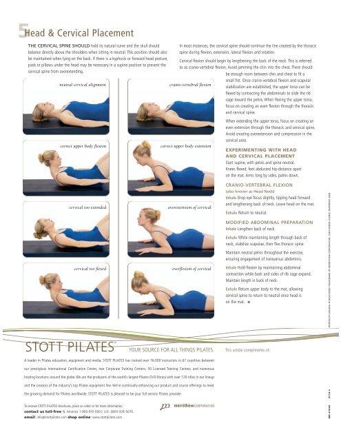 Download the brochure corsano pilates.
