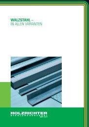 WALZSTAHL – IN ALLEN VARIANTEN - Spaeter Oberhausen