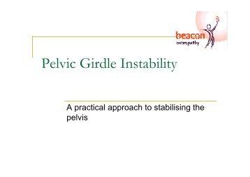 Pelvic Girdle Instability - Pelvic Instability Network Support