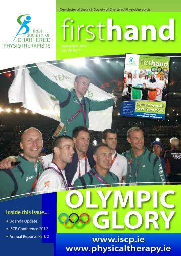 ISCP Newsletter September 2012 - UCD Volunteers Overseas